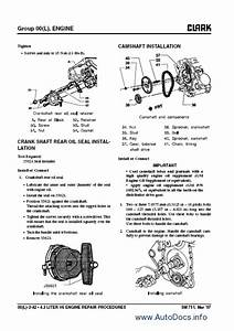 Clark Forklift Trucks Service Manuals Repair Manual Order
