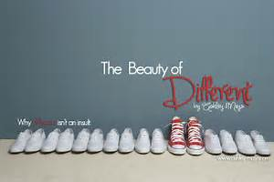 DARE TO BE DIFFERENT Quotes Like Success