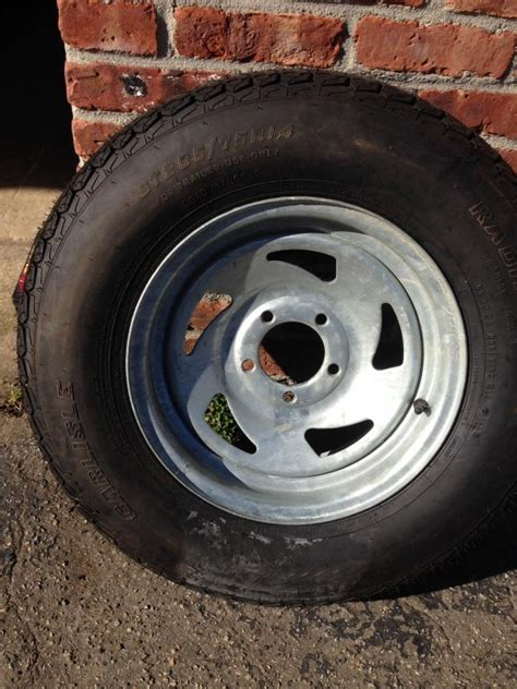 Boat Trailer Tire Stuck by Brand New Spare Boat Tire And
