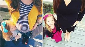 Adorable Photos of a Stylish Pregnant Mother and Her Cute ...