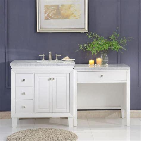 Standard bathroom vanity unit sizes. Silkroad Exclusive 67-in White Single Sink Bathroom Vanity ...