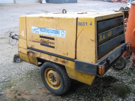 atlas copco kompressor kompressor atlas copco xas 40 compressor atlas copco xas40 for sale retrade offers used