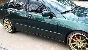 Rimtyme Jonesboro Ga  2002 Lexus On 18 U0026quot  Gold Konig Rims