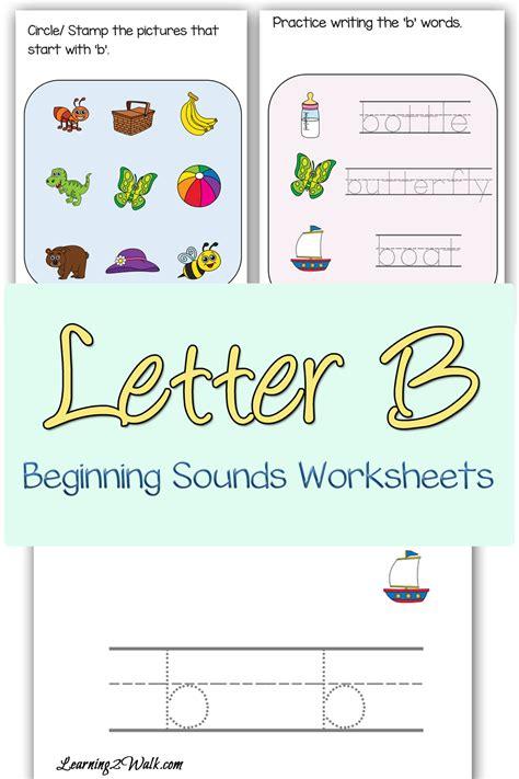 letter  beginning sounds worksheets