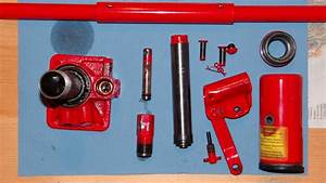 Disassembling Of A Hydraulic Jack  How To