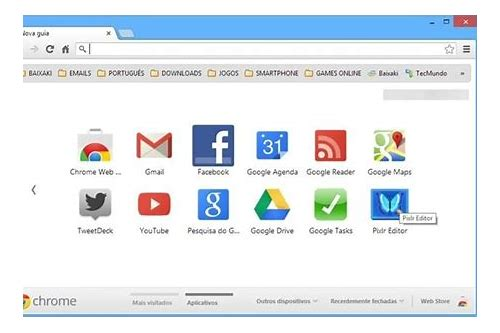 baixar o layout do google chrome para pc
