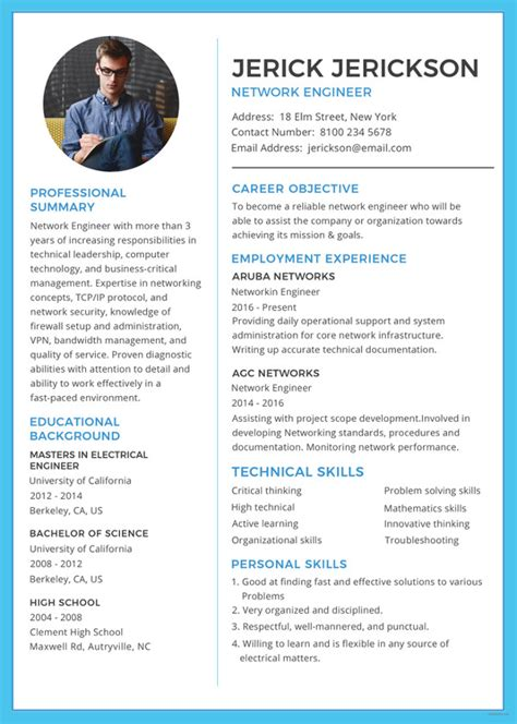 blank resume templates    premium