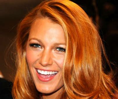 dark copper golden blonde hair style  color  woman