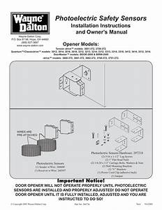 Quantum 3213 Garage Door Opener Owner S Manual
