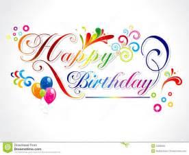 abstract happy birthday card royalty free stock photos image 22820328
