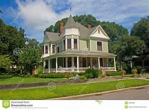 Coastal Victorian Home 3 Stock Photo