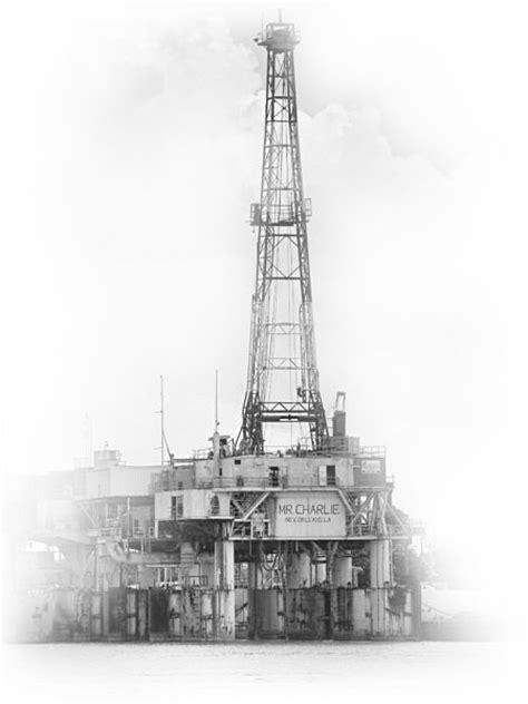 Mr. Charlie Oil Drilling Rig