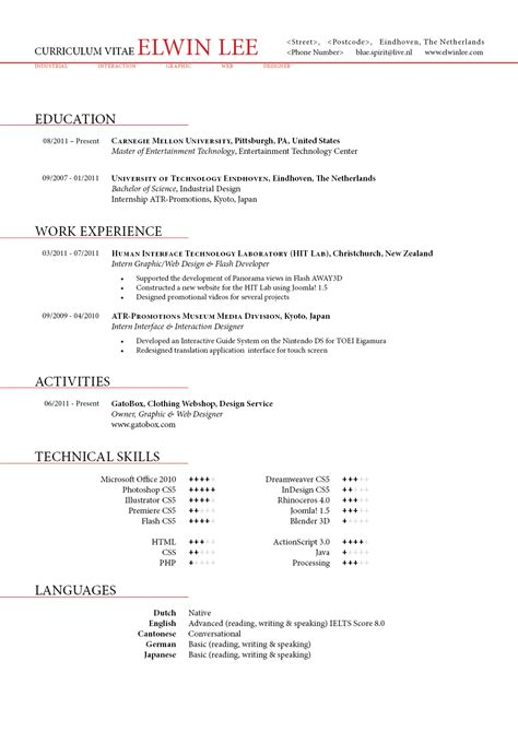 well designed resume exles for your inspiration clean