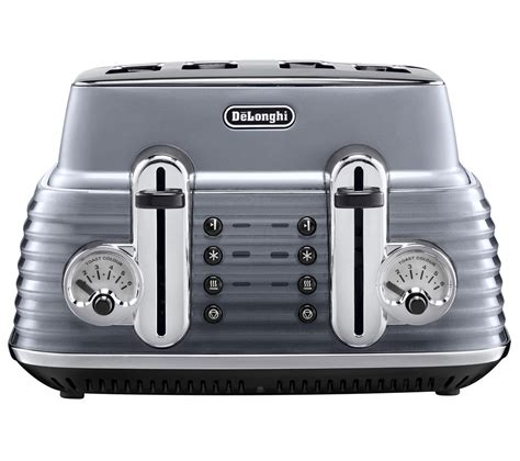 Delonghi 4 Slice Toaster by Buy Delonghi Scultura Ctz4003gy 4 Slice Toaster Gun