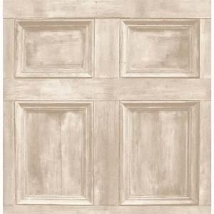 Buy Fine Decor Wood Panel Wallpaper Cream / Light Beige
