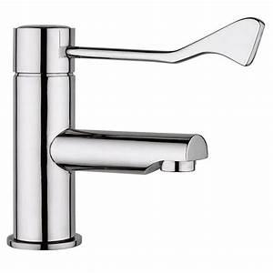 Komplettspüle Mit Armatur : klinikarmatur hygiene armatur mit langem hebel ellbogen armhebel wasserhahn ebay ~ Orissabook.com Haus und Dekorationen