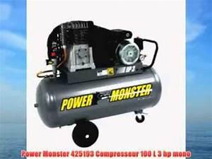 Compresseur 100l 3cv Pas Cher : compresseur 100l pas cher youtube ~ Dailycaller-alerts.com Idées de Décoration