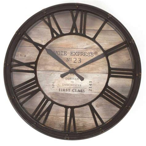 horloge murale style gare pendule horloge style horloge de gare