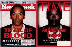 TIME Magazine - OJ Simpson — ALTERED IMAGES