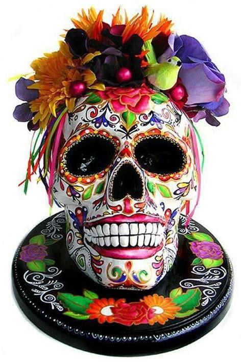 images  day   dead art skull art