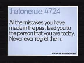 Inspirational Quotes About Regret
