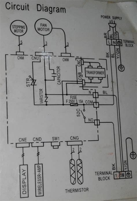 kancil aircon wiring diagram wiring diagram