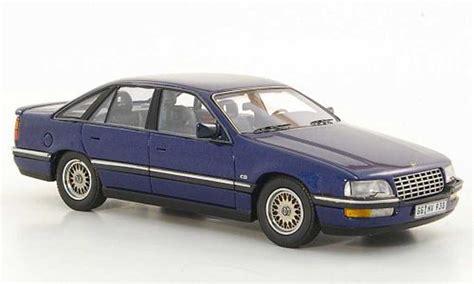 Opel Senator B 3 0i 24v Blue 1990 Neo Diecast Model Car 1