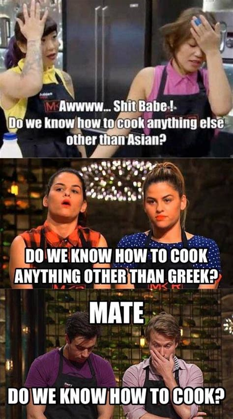 My Kitchen Rules Memes - mkr memes my kitchen rules memes pinterest