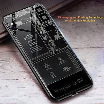 Iphone Phone Case Led Apple Tablet Xs