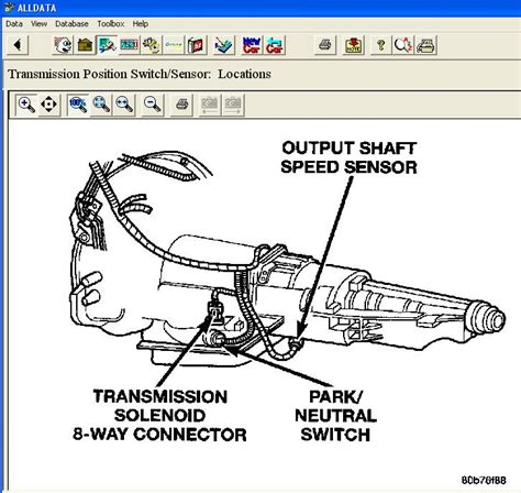 Need Find Neutral Safety Switch Located Dodgeforum