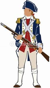 Revolutionary War Soldier Color Layered Also Available In ...