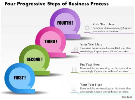 business consulting diagram  progressive steps