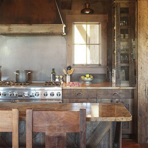 Kitchen: Fabulous Images Of Reclaimed Wood Kitchen Island
