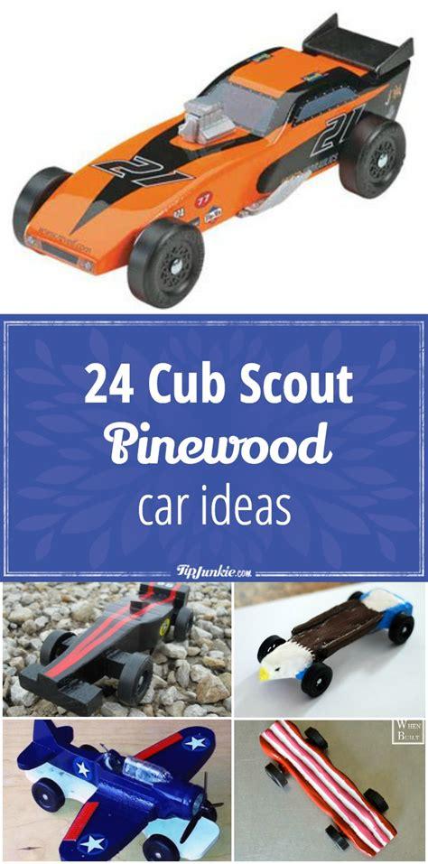 cub scout pinewood car ideas tip junkie