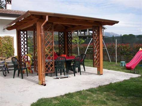 Costruire Un Gazebo In Legno Fai Da Te by Gazebo Fai Da Te Arredo Giardino Come Costruire Un