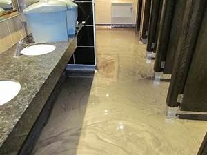 polished concrete floors and poured resin flooring With acrylic resin flooring