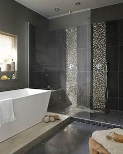 Salle De Bain Italienne Leroy Merlin : salle de bains chic et noire leroy merlin ~ Melissatoandfro.com Idées de Décoration