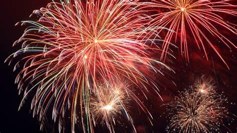 Feuerwerk am 1. August - Nationalfeiertag