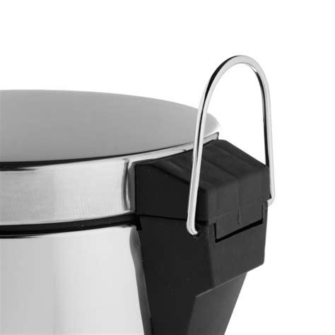 poubelle cuisine inox brossé poubelle ronde 30l inox brossé