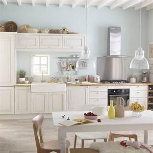 Meuble De Cuisine Blanc DELINIA Cosy Leroy Merlin