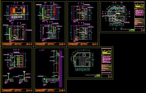 Design of bathroom in AutoCAD   Download CAD free (1.66 MB