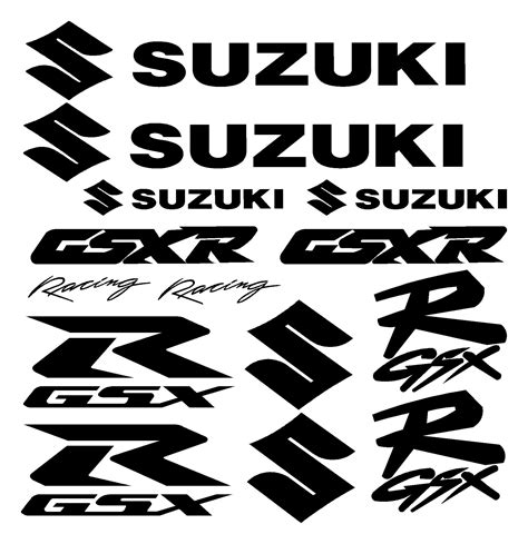 Suzuki Motorcycle Decals by Suzuki Logo Recherche Suzuki