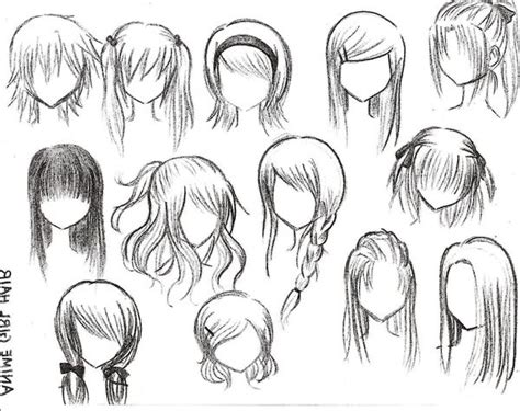 anime hairstyles google search  heart