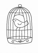 Cage Bird Coloring Draw Pages Birdcage Caged Canary Printable Drawings Cages Getcolorings Cag Google Button Through 36kb 828px sketch template