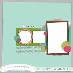 Free digital scrapbook template | Awesome Freebies | Pinterest