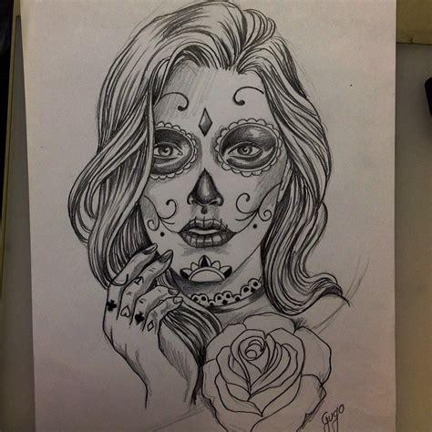 27+ Catrina Sketch Tattoos Ideas
