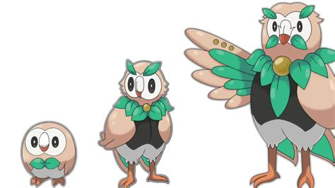 Pokemon Sun And Moon Rowlet Will Stay Grass Flying