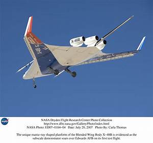 NASA Dryden X-48B Blended Wing Body BWB Photo Collection