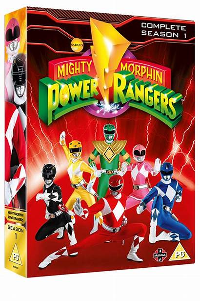 Rangers Mighty Morphin Power Season Complete Dvd
