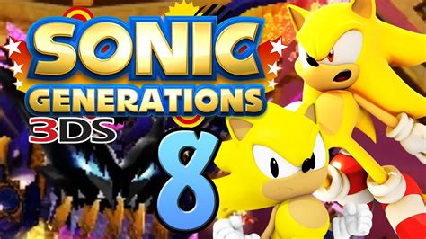 sonic generations ds  super sonics  time eater